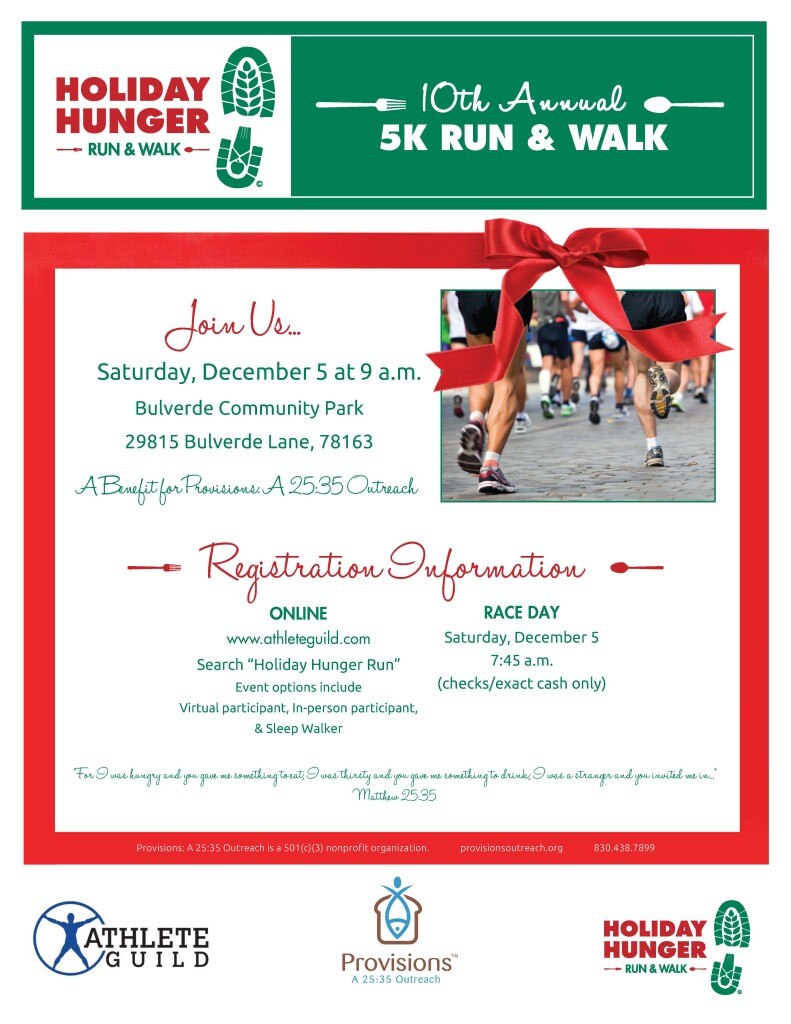 2020_HolidayHungerRun_Flyer